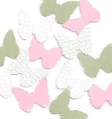Personalised Butterfly 1st Birthday Decorations  by SetToCelebrate, $3.75