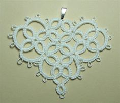 Needle Tatting: SweetHeart Motif