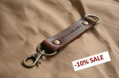 Custom Keychain, Personalized Leather Keychain,Engraved  Keyring, Keyfob, Bridesmaid Gift, Bestman Gift by simplefraction, $15.99 USD