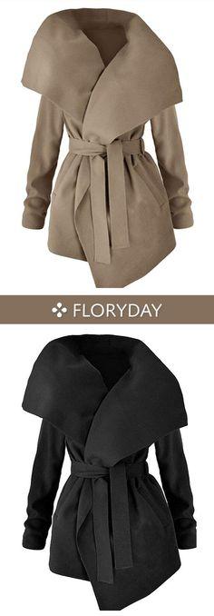 Cotton & Cotton Blend Long Sleeve Other Sashes Coats Item Code: #1128457 US$ 40.99 #besthongkongsharestobuy