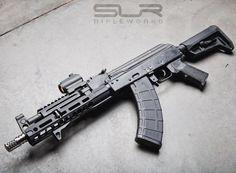 """SLR Rifleworks on Instagram: """"SLR 9"""" Lite Mlok / Gas tube / hand stop/ Ti Comp…"""