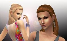 Sims 4 CC's - The Best: Hair by My Stuff