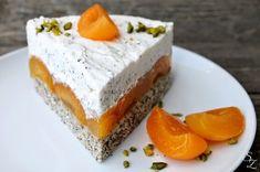 Aprikosen-Mohn-Torte • Schokokuss und Zuckerperle Torte Cake, Cake & Co, German Cake, Cheesecake Tarts, Let Them Eat Cake, Yummy Cakes, No Bake Cake, Cake Cookies, Baking Recipes