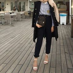 formal hijab style-Street style inspirations for hijab – Just Trendy Girls