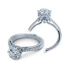 Verragio Couture-0429R Platinum Engagement Ring for about $4050