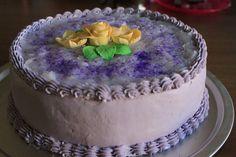 Ube Macapuno Cake Recipe aka Purple Yam Cake