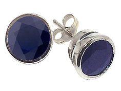 something blue! Blue sapphire earrings