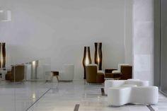 Onyria Marinha Edition Hotel & Thalasso - Cascais Edition Hotel, Lobby Lounge, Sales Office, Dining Table, Interior Design, Clinic, Portugal, Restaurants, Hotels