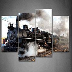 A Car And Train With Gray Smoke Steam Trains In Progress ... https://www.amazon.com/dp/B01GB4IKGE/ref=cm_sw_r_pi_dp_x_aqzwybTTVR30S