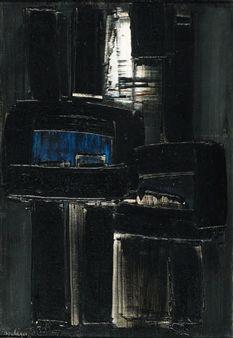 Peinture 14 dcembre 1956 By Pierre Soulages