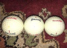 Vintage 3 New Liquor Canadian Club Spalding Golf Balls RARE!! From 1980s  | eBay
