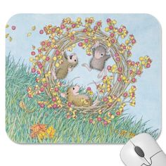 """""""Mouse Pad 9 x 8 x 1/4"""" from House-Mouse Designs / www.house-mouse.com - (PAD-2010-10). This item was recently purchased off from our web site, www.house-mouse.com. Click on the image to see more information."""
