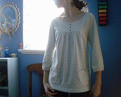 Marie G. Imaginary Animal. Knit version of basic pattern 21 E & S.