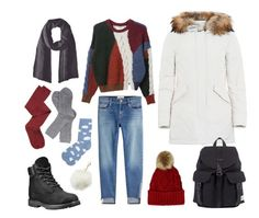 """""""Getting warm in Oslo"""" by wedder on Polyvore featuring мода, Frame, Isabel Marant, Timberland, Intimately Free People, M&Co, Barbour, Herschel и Charlotte Russe"""