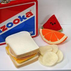 Fieltro juego comida  Sandwich de jamón