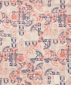 Liberty Art Fabrics Mosaic Lace Tana Lawn Cotton | Fabric | Liberty.co.uk
