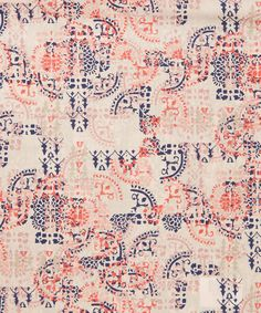 Liberty Art Fabrics Mosaic Lace Tana Lawn Cotton | Fabric | Liberty.co.uk