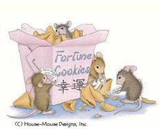 """Mudpie, Monica, Amanda and Muzzy from House-Mouse Designs® featured on the The Daily Squeek® for October 16th, 2013. Click on the image to see it on a bunch of really """"Mice"""" products."""
