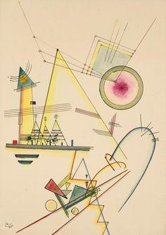 Wassily Kandinsky – Zartes Gemüt, 1925