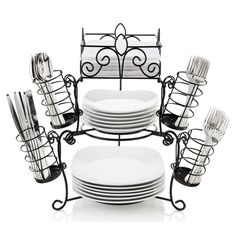 7 Piece Stack & Serve Buffet Set - Sam's Club