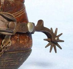 boots and spurs.... (those spurs el kill me!)