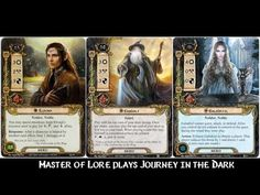 Journey in the Dark - Wielders of the Three - LOTR LCG - YouTube