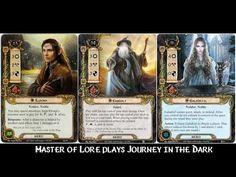 Journey in the Dark - Wielders of the Three - LOTR LCG - YouTube