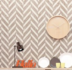 Va va VOOM! This daring chevron stencil is not for the faint of heart! Make your…