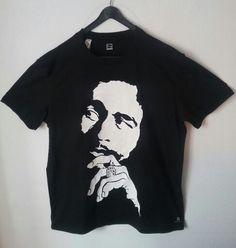 Camisetas pintadas a mano  Bob Marley