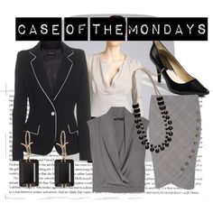 Case of the Mondays, created by theadminpost on Polyvore