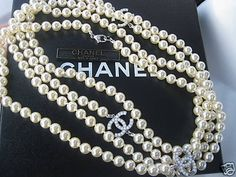 Chanel Pearl Necklace.