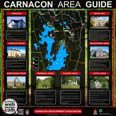 Signage Design and Print Ballinrobe Mayo Ireland Client: Carnacon Development Association #carnacon #moorehall #tourist #attractions #lough #carra #ballinrobe #visitors #guide #signage