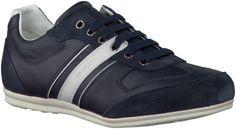 Geox Baskets U42P1A Bleu | Hommes - Chaussures - Sneakers