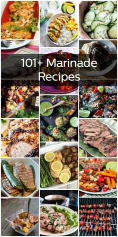 Marinating is easy, and adds a fantastic layer of flavor to your dish. You can marinate almost any kind of meat or vegetable, and more. Here are 101+ marinade recipes to keep you busy! #marinades #recipes #thecookful