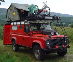 Camping - Land Rover style