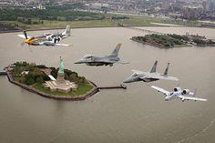 Honoring aviation and New York