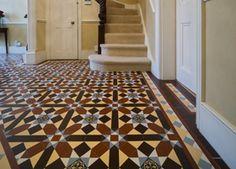 Grasmere Geometric Floor Tiles http://www.originalfeatures.co.uk/news/geometric-victorian-tile-patterns