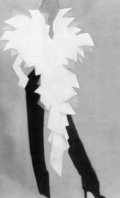 Fashion Illustration by Mats Gustafson (b. 1951).