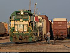 RailPictures.Net Photo: CFNR 105 California Northern Railroad EMD GP15-1 at Dallas, Texas by Steven Mckay