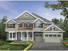 Eplans Craftsman House Plan - Third Floor Media Room with Private Deck - 4918 Square Feet and 5 Bedrooms from Eplans - House Plan Code HWEPL64108