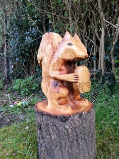 A chainsaw carved Owl Bench | My Chainsaw Carvings ...