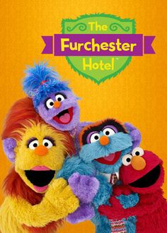 The Furchester Hotel (2014) - Elmo hops across the pond to help his extended monster family solve problems at their 'almost' world-class establishment, the Furchester Hotel.