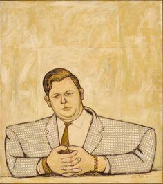 Kym Bonython portrait by John Brack, 1963