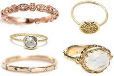 yayoi forest blog: unusual engagement rings