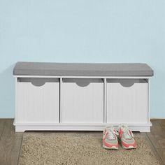 SoBuy® Hallway Shoe Storage Seat Bench Cabinet with Drawer & Bench With Shoe Storage, Storage Bench Seating, Storage Cabinet, Hallway Seating, Bench, Bench With Drawers, Wooden Storage, Dorm Room Storage, Seat Storage