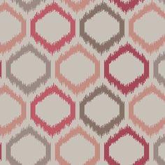 Warwick Fabrics : DENVER (PNM), Colour PAPRIKA