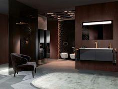 Villeroy&Boch Bathroom's Colourful highlights and New Hues Contemporary Bathrooms, Modern Bathroom, Master Bathroom, Luxury Bathrooms, Black White Bathrooms, Bathroom Showrooms, Bathroom Design Inspiration, Kitchen Gallery, Classic Bathroom