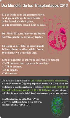 6 de junio Dia Mundial del Trasplantado