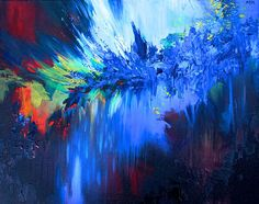 Melissa S McCracken | Synesthetic Artist | prints Free Fallin'