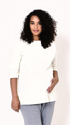 Maternity style by Koka Mama at EGG Maternity Style, Maternity Fashion, Egg, T Shirts For Women, Sleeves, Sweaters, Collection, Tops, Eggs